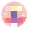 Opal Bright Sew-on Stone 10pcs Round 16mm Pink Aurora Borealis